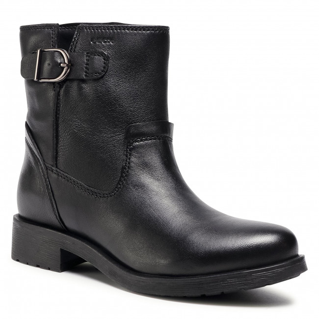 Tres Cerveza inglesa Una buena amiga  Ankle boots GEOX - D Rawelle C D046RC 000TU C9999 Black - Boots - High boots  and others - Women's shoes | efootwear.eu