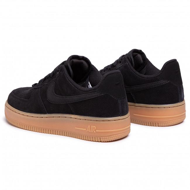 Shoes NIKE Air Force 1 '07 Se AA0287 002 BlackBlackGum
