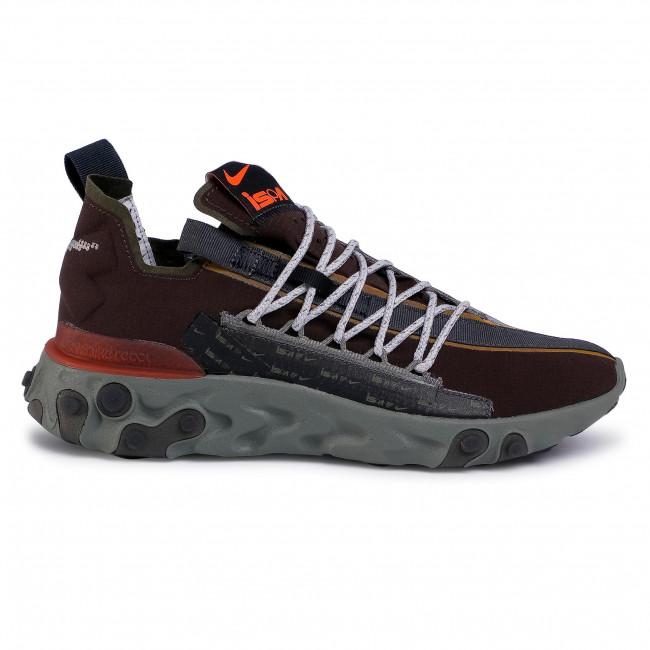 Shoes NIKE - React Wr Ispa AR8555 200 Velvet Brown/Terra Orange