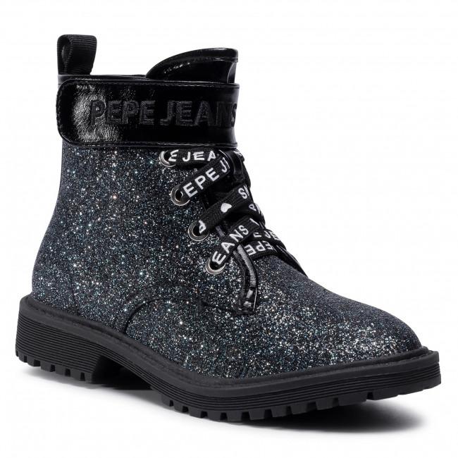 Hiking Boots PEPE JEANS - Hatton Velcro PGS50162 Volga Blue 577