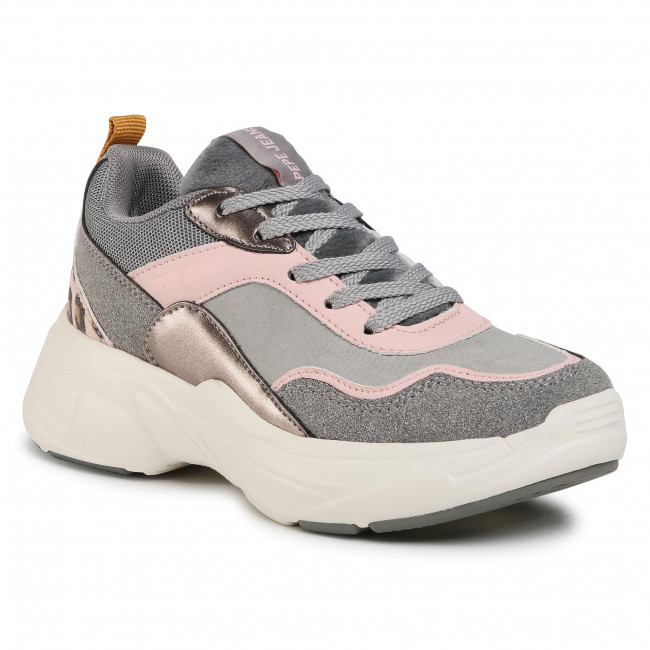 Trainers PEPE JEANS - Sinyu Girl Combi PGS30467  Grey 945