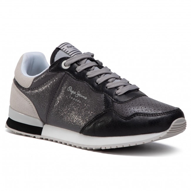 Trainers PEPE JEANS - Archie Noon PLS31101 Chrome 952