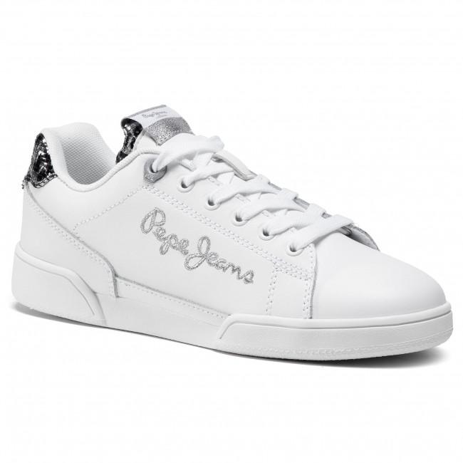 Trainers PEPE JEANS - Lambert W Logo PLS31021  White 800