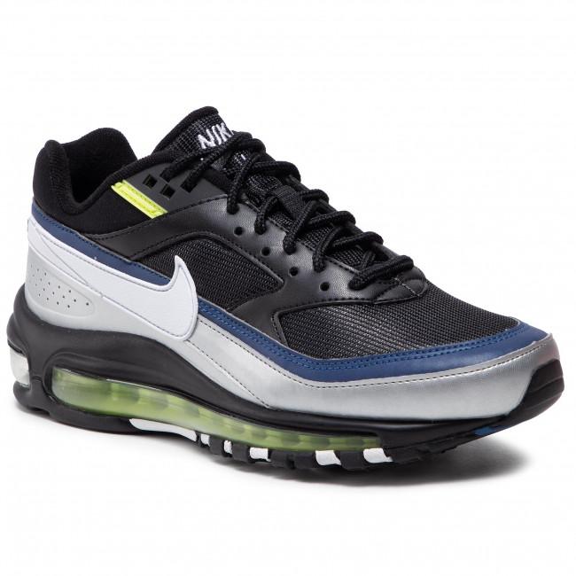 Footwear NIKE - Air Max 97/Bw AO2406 003 Black/White/Metallic Silver