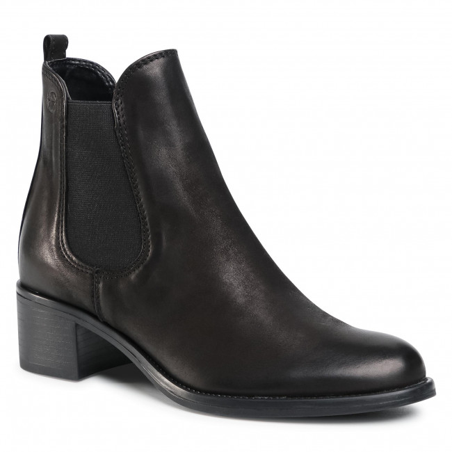 Chelsea boots TAMARIS - 1-25040-25 Black Nubuc 008