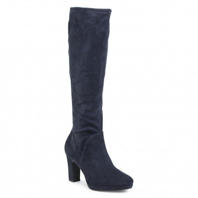 Knee High Boots TAMARIS - 1-25522-25 Navy 805
