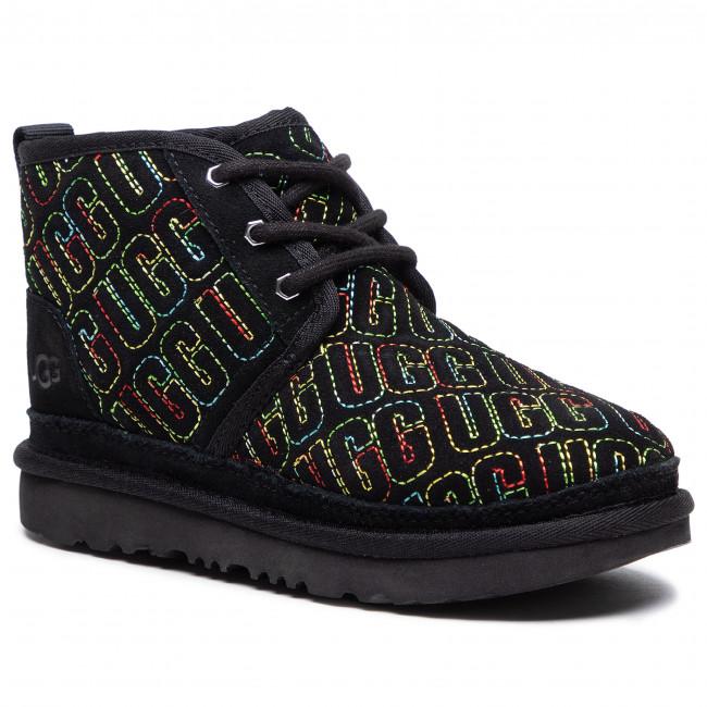 Boots UGG - K Neumel II Graphic Stitch 1116170K Blk