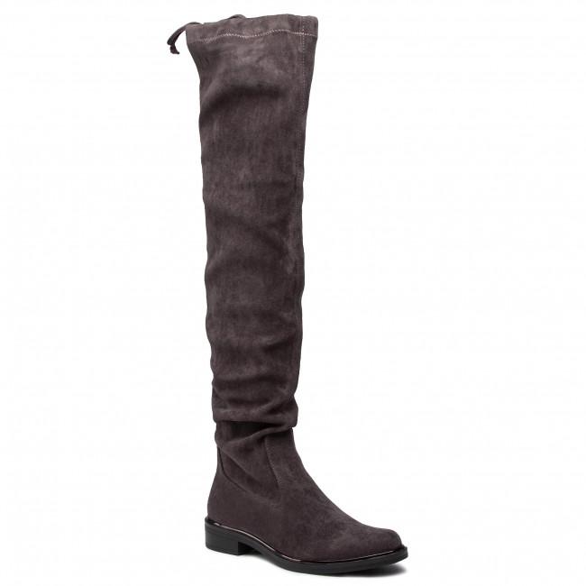 Over-Knee Boots CAPRICE - 9-25510-25 Dk Grey Stretc 250