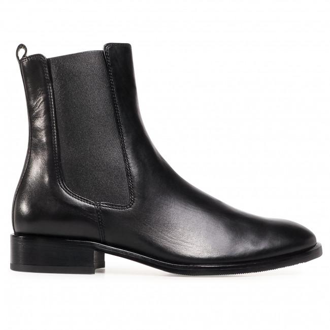 Velourkid-Leder HÖGL Ankle Boots Black 104112-0100
