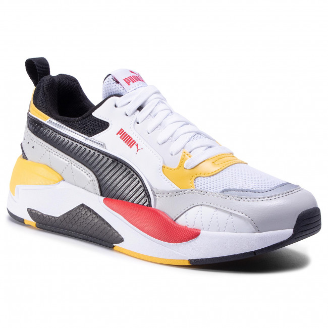 Sneakers PUMA - X-Ray 2 Square 373108 10 White/Red/Super Lemon