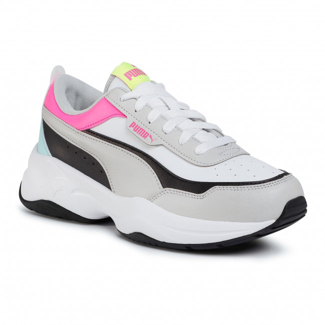 Irradiar Cuyo bolígrafo  Shoes PUMA - Cilia Mode 371125 08 White/Gray/Black/Pink/Blue - Sneakers -  Low shoes - Women's shoes | efootwear.eu