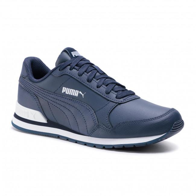 Sneakers PUMA - St Runner v2 L Jr 366959 06 Peacoat/Peacoat/Puma White