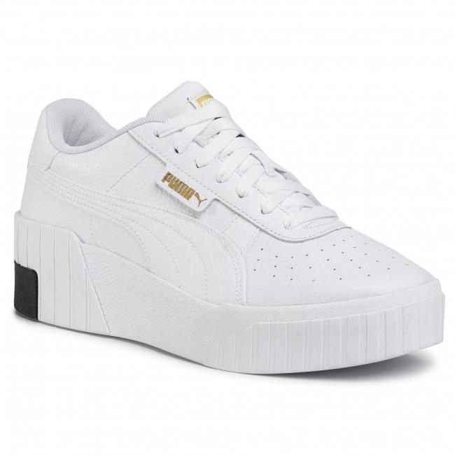 Sneakers PUMA - Cali Wedge 373438 03 Puma White/Puma Black