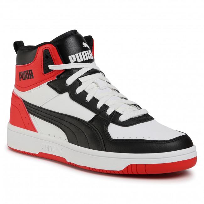 Trainers PUMA - Rebound Joy 374765 03 White/Black/High Risk Red