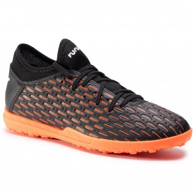 Shoes PUMA - Future 6.4 Tt Jr 106209 01 Black/White/Shocking Orange