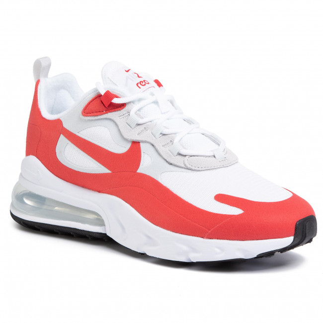 Shoes NIKE Air Max 270 React CW2625 100 WhiteUniversity Red