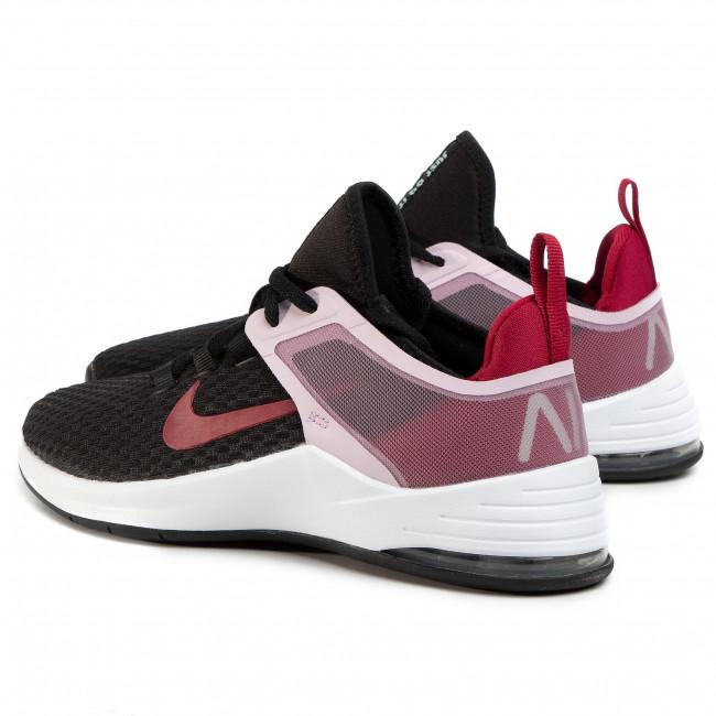 Shoes NIKE Air Max Bella Tr 2 AQ7492 010 BlackNoble RedIced Lilac