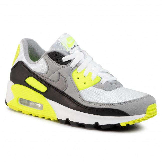 Shoes NIKE - Air Max 90 CD0881 103 White/Particle Grey/Volt Black