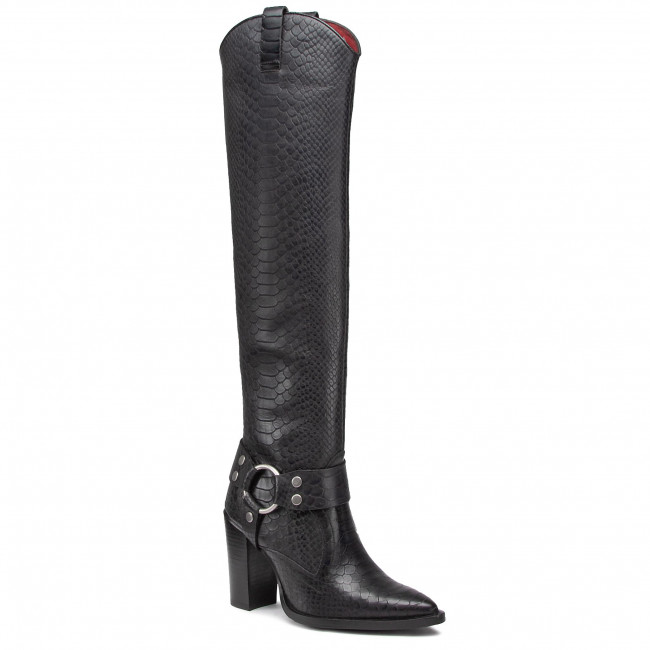 Knee High Boots BRONX - 14197-K Black 01
