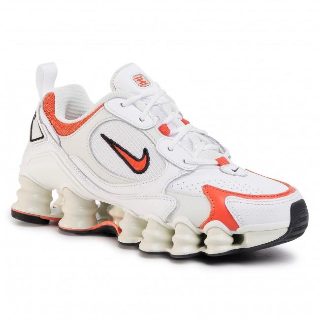 Shoes NIKE - Shox Tl Nova AT8046 101 White/Team Orange/Spruce Aura