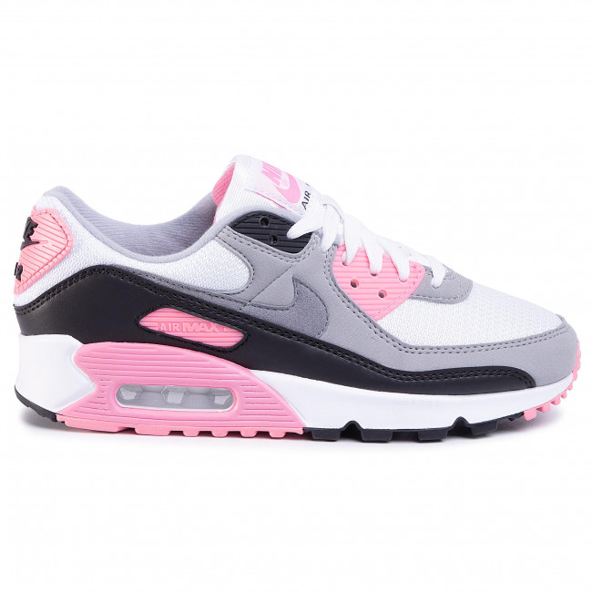 Shoes NIKE Air Max 90 CD0490 102 WhiteParticle GreyRoseBlack