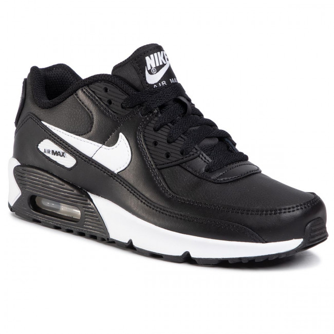 Shoes Nike Air Max 90 Ltr Gs Cd6864 010 Black White Black Sneakers Low Shoes Women S Shoes Efootwear Eu