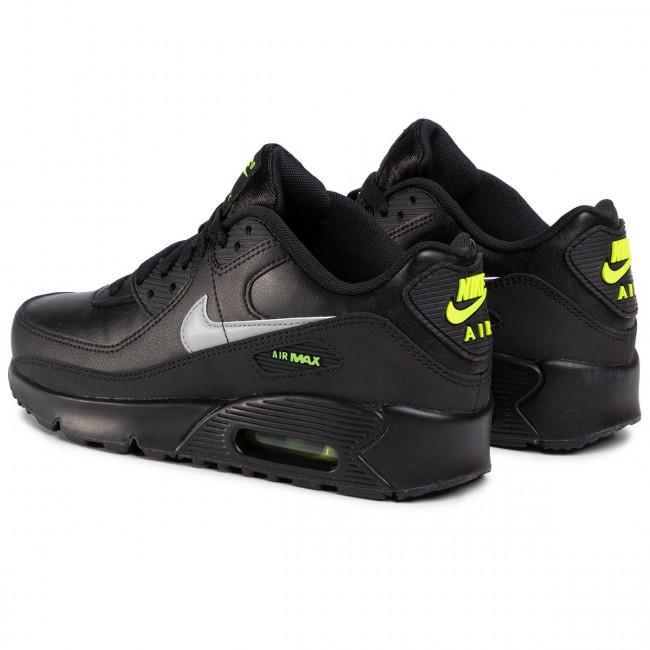 Shoes NIKE Air Max 90 Gs CV9608 001 BlackLt Smoke GreyVolt