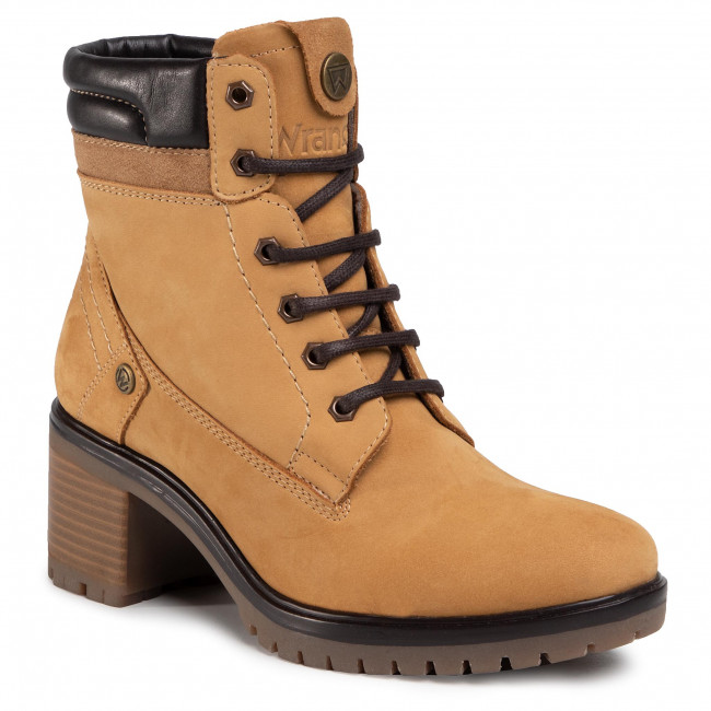 Ankle boots WRANGLER - Sierra WL02510A Tan Suede 024