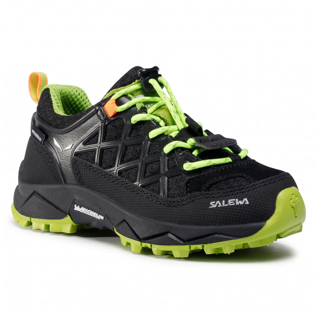 Trekker Boots SALEWA - Jr Wildfire Wp 64009-0986 Black Out/Cactus