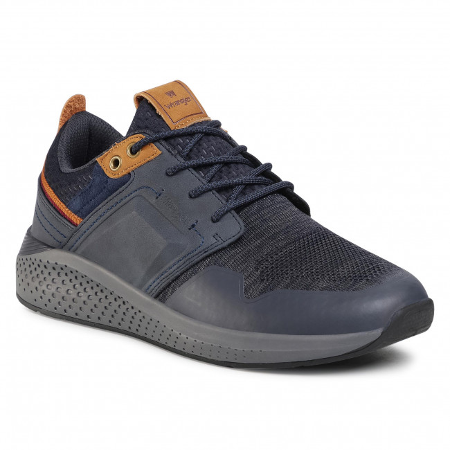 Trainers WRANGLER - Sequoia City WM02091A  Navy/Dk. Grey 736