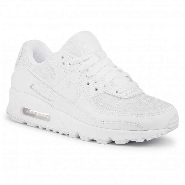 Shoes NIKE - Air Max 90 CQ2560 100 White/White/White/Wolf Grey