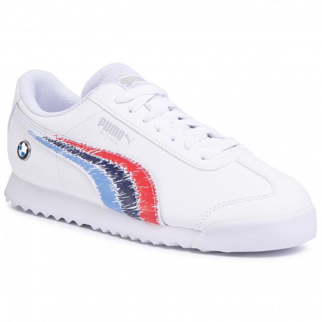 Sneakers PUMA - Bmw Mms Roma Jr 339982 02 Puma White/Puma White
