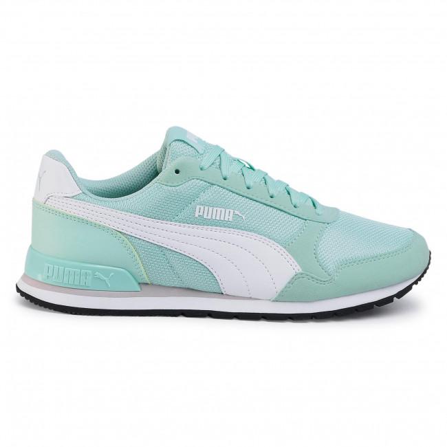 Sneakers PUMA - St Runner v2 Mesh 366811 11 Mist Green/Puma White