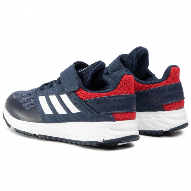 Shoes adidas FortaFaito El K F34122 Collegiate NavyCloud WhiteScarlet