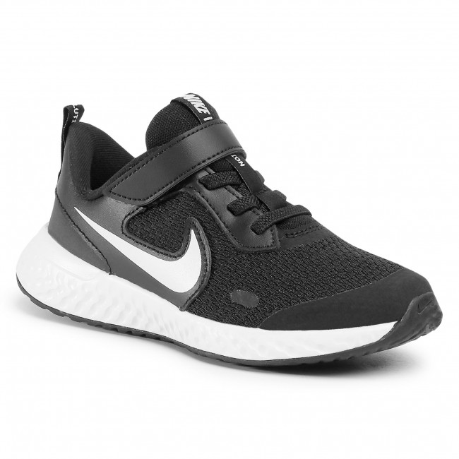 Shoes NIKE - Revolution 5 (PSV) BQ5672 003 Black/White/Anthracite