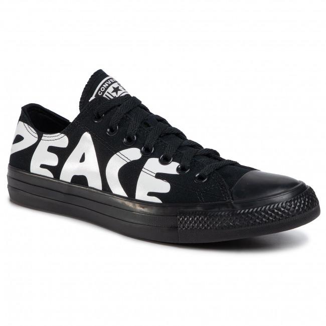 Sneakers CONVERSE - Ctas Ox 167893C  Black/White/Black