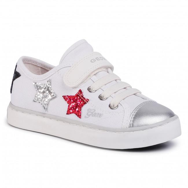 Sneakers GEOX J Ciak G. I J0204I 00010 C0007 S WhiteSilver