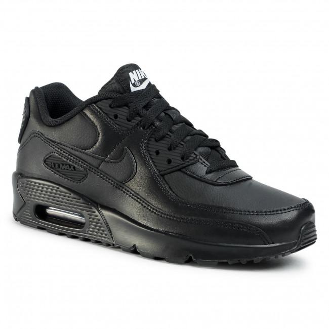 Shoes NIKE - Air Max 90 Ltr (GS) CD6864 001 Black/Black/Black/White