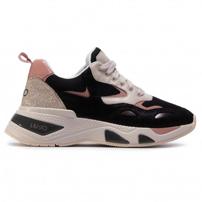 auditoría Cordelia Comorama  Sneakers LIU JO - Hoa 01 BF0017 PX096 Black/Toupe S1029 - Sneakers - Low  shoes - Women's shoes | efootwear.eu
