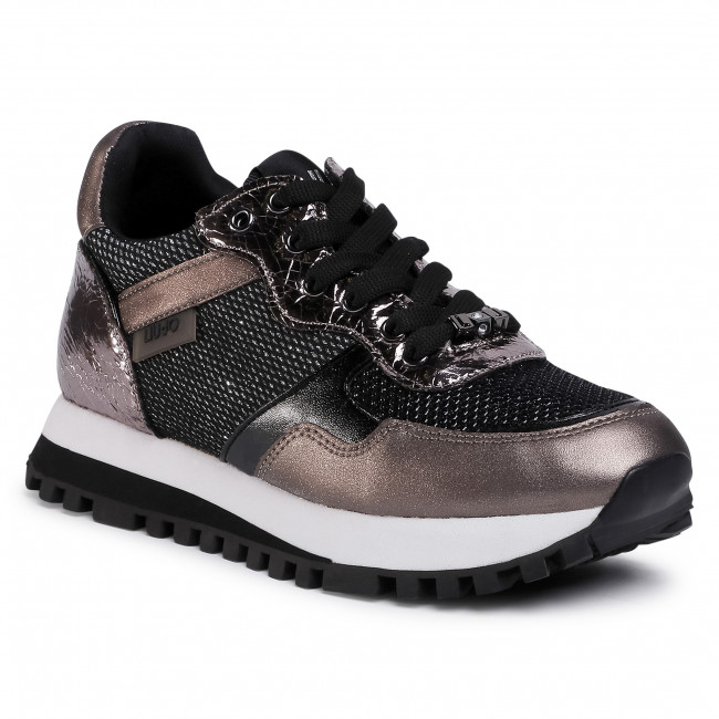 Guión Cuidar ataque  Trainers LIU JO - Wonder 2.0 BF0039 EX048 Pewter 00572 - Sneakers - Low  shoes - Women's shoes | efootwear.eu
