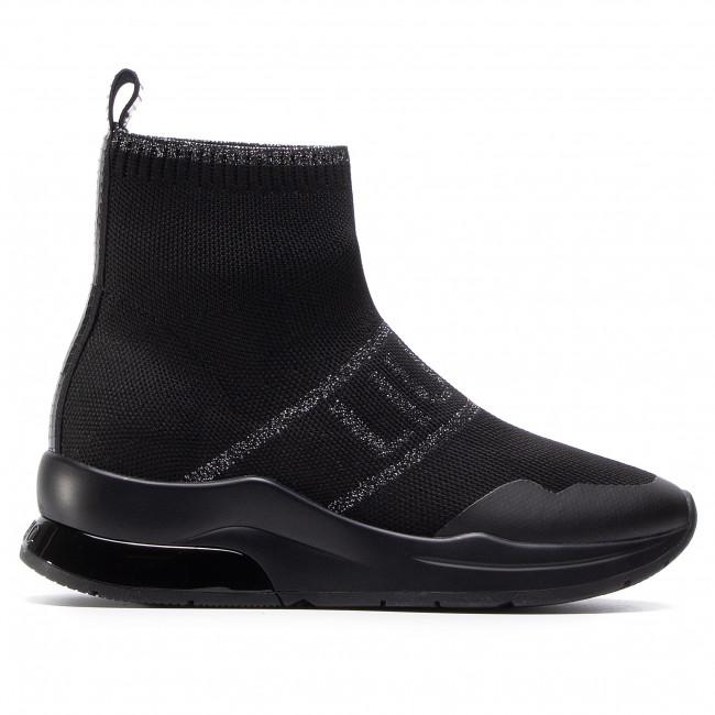 leopardo Pekkadillo verano  Sneakers LIU JO - Karlie 44 BF0041 TX022 Black 22222 - Sneakers - Low shoes  - Women's shoes   efootwear.eu