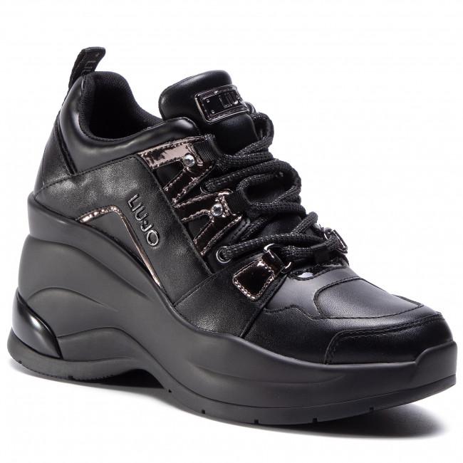Vendedor relé admiración  Sneakers LIU JO - Karlie Revolution 26 BF0095 TX136 Black 22222 - Sneakers  - Low shoes - Women's shoes   efootwear.eu