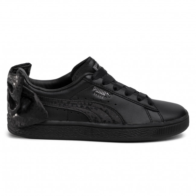 Sneakers PUMA - Basket Bow Animal Wn's 367828 02 Puma Black/Puma Aged Silver