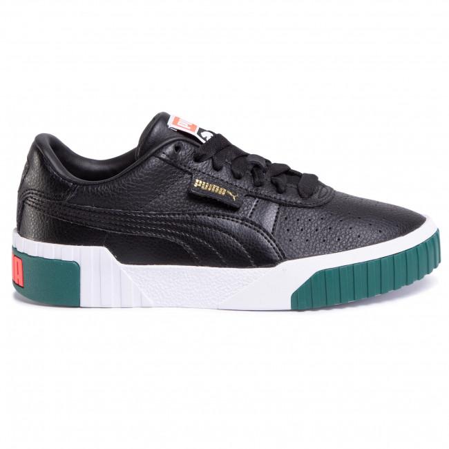 369155 09 Puma Black/Teal Green