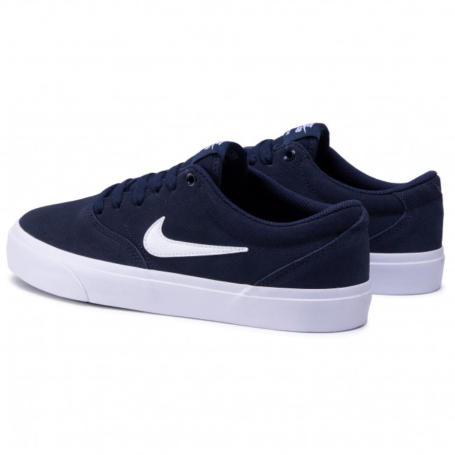Shoes NIKE - Sb Charge Suede (Gs) CT3112 400 Obsidian/White/Obsidian/Black