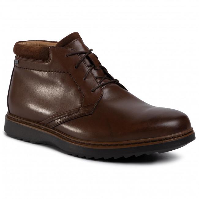 medios de comunicación Quagga responsabilidad  Boots CLARKS - Un Geo Mid Gtx GORE-TEX 261367748 Brown Leather - Boots -  High boots and others - Men's shoes | efootwear.eu
