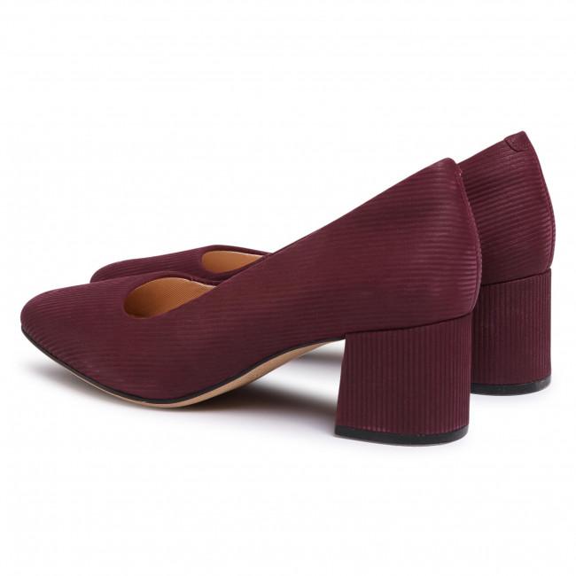 Shoes CLARKS Sheer Rose 261440854 Burgundy Intrest