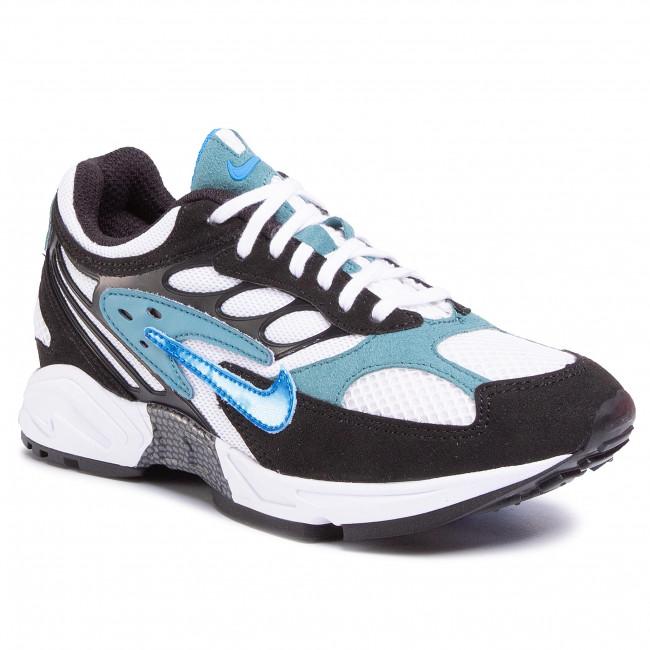 Footwear NIKE - Air Ghost Racer AT5410 004 Black/Photo Blue/Mineral Teal