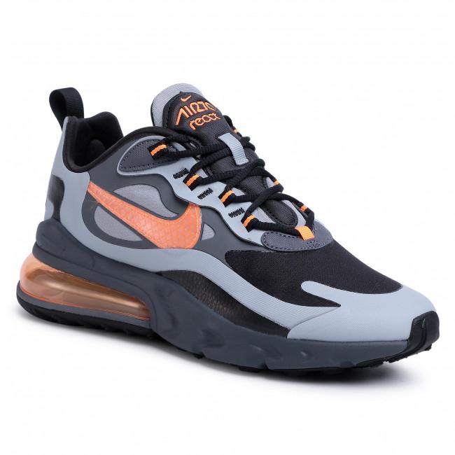 Shoes NIKE Air Max 270 React Wtr CD2049 006 Wolf GreyTotal OrangeBlack