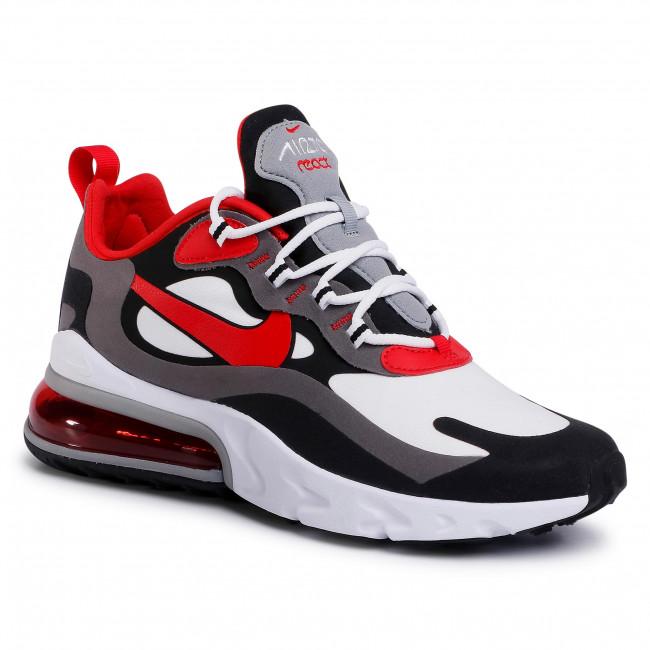 Shoes NIKE Air Max 270 React CI3866 002 BlackUniversity RedWhite